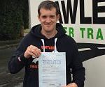 Michael from Ossett near Leeds passes CPC Test